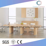 Mesa de conferência de melamina na mobília de escritório opcional de cor