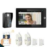 Домашние системы безопасности для Smart видео для телефона Bothe двери и беспроводной сети WiFi