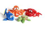 En71 증명서 귀여운 디자인 주문 견면 벨벳 아기 장난감 소형 연약한 박제 동물 견면 벨벳 장난감