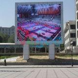 Pubblicità dello schermo di visualizzazione esterno del LED di colore completo di ventilazione 6mm