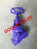 il dispositivo di tenuta a pressione di 900lb/1500lb/2500lb F22 ha forgiato la valvola di globo d'acciaio di Y (GAJ65H)