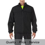 Черная форма куртки зимы людей хлопка