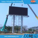 Pantalla de visualización al aire libre a todo color impermeable de LED P8 para Advertizing