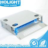 El bastidor de la distribución de fibra óptica de montaje en rack ODF 24 Core