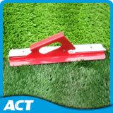 Hoog - het Multifunctionele Synthetische Gras van de dichtheid voor het Honkbal van de Voetbal van het Sportterrein