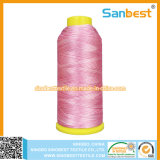 100% de fil de broderie à rayons colorés de haute qualité pour broderie