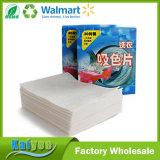 El paño de bambú tejido punto de interrupción de la fibra, rodillo imprimió el trapo de limpieza