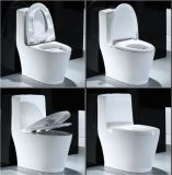 Mexique Malaisie S-Trap piédestal monobloc siège des toilettes