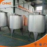 Geïsoleerdej Tank 304/316 van de Opslag van de Alcohol van het Hete Water van het Roestvrij staal
