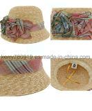 Fashional Girl Summer Hat / chapéu de sol / chapéu de palha (DH-LH9111)