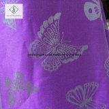 최신 인기 상품 Pashmina 숄 형식 나비에 의하여 인쇄되는 자카드 직물 스카프