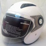 Nuevo casco abierto de la motocicleta de la cara 2017 con el material del ABS