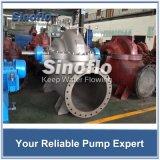 Double pompe centrifuge enfermante axialement dédoublée d'aspiration d'étape simple avec le moteur de Siemens