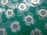 Placa de circuito 2 Layer Enig PCB 1,0mm de espessura com verde