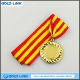 La qualité folâtre la pièce de monnaie faite sur commande de souvenir de médaillons de médaille d'or