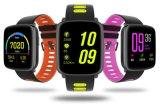 Le traqueur de forme physique, Pedometer intelligent Bluetooth de bracelet de sport de moniteur du rythme cardiaque de bracelet de traqueurs d'activité de la montre Gv68 4.0 IP68 imperméabilisent Smartwatch pour l'iPhone et