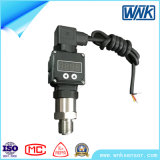 Transdutor de pressão 4~20mA/0~20mA/0~10mA/1~5V do ISO 9001 com indicador de diodo emissor de luz