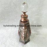 бутылка Refillable золотистого дух металла 12ml стеклянная с крышкой винта Mpb-19