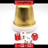 Вспомогательное оборудование Ym-Di01 игр таблицы покера Si Bo плиты кнопки торговца Baccarat Macau преданное акриловое