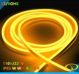 5050SMD 230V IP65 보장 3 년을%s 가진 네온 코드 밧줄