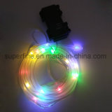 Outdoor Home Decorative Warm White Flexible Tube LED Fairy Light avec un beau scintillement