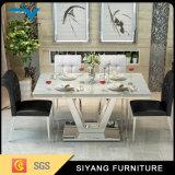Vector de cena superior de los muebles de Foshan del mármol moderno del cuadrado
