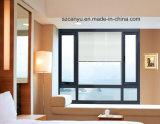 Ventana fija del nuevo vidrio de aluminio moderno barato del diseño solo