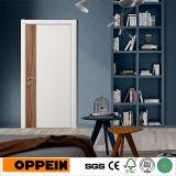 Oppein simple diseño interior de la puerta de madera de melamina blanca (YDG002D)