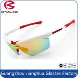 Material del marco de la PC y gafas de sol de la manera Nueva bici caliente del estilo que completa un ciclo las UV400 que se divierten las gafas de sol