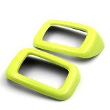 De gloednieuwe ABS Materiële UV Beschermde Gele Dekking van de Veiligheidsgordel van de Stijl van de Kleur AchterVoor Clubman van Mini Cooper F54 (2PCS/Set)