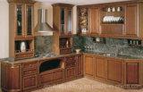 De Amerikaanse Eiken Keukenkast van het Meubilair van de Keuken Stevige Houten