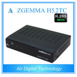 Zgemma H5.2tc Twin DVB-C/T2 + DVB-S2 Multi-Steam H. 265 decodificador de televisión