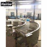 Hairise Nahrungsmittelgrad-Riemen-Hersteller-gewundene Gefriermaschine-Förderanlage