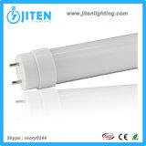 T8 LED 가벼운 관 20W는 PC 덮개 LED 관 전등 설비를 서리로 덥었다