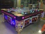 Máquina de juego de fichas de juego de arcada de la pesca del casino de la diversión