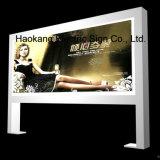 포스터 프레임을%s 가진 전시 사진 프레임 광고를 위한 두루말기 LED 가벼운 상자