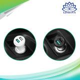 Ugreen二重USB小型車の充電器の速い料金2.0の3.0携帯電話車の充電器