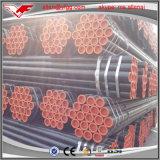 ASTM A53 Gr. B黒い塗られたERWの炭素鋼の管氏鋼管