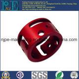 Втулка трубы мыжской резьбы CNC алюминия подвергая механической обработке