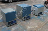 (4Liters) Forno de temperagem 1700c, Forno de mufla de laboratório com haste Mosi2 1800grade 150X150X150mm