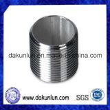 Tube / tuyau fileté en acier / aluminium / laiton