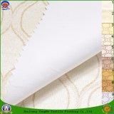 Il poliestere tessuto tessile domestica ha ricoperto di tessuto impermeabile ignifugo della tenda di mancanza di corrente elettrica del PVC