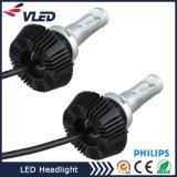 Farol H4 H7 H11 9005 do diodo emissor de luz da geração a mais nova 48W farol do diodo emissor de luz de 9006 carros 4000 lúmens