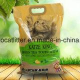 Tè verde della lettiera del tofu - Flushable e ragruppare
