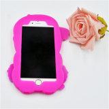 Caisse bon marché de silicones de mode de vente d'usine pour le cas de l'iPhone 4S