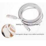 Мобильный телефон кабель USB/зарядка аккумуляторной батареи 1,5 м кабель передачи данных с помощью магнитного кольца