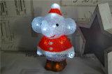 La luz de las decoraciones de Navidad de acrílico con LED Luz madera Navidad
