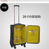 2017 Chubont Hot Selling 4 Wheels Travel Bagagem bagagem macia