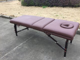 Tabla portable del masaje de madera Mt-009-2h pasado el CE, RoHS.