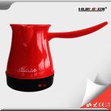 電気コーヒー鍋のやかん4個のコップの携帯用トルココーヒーメーカーの